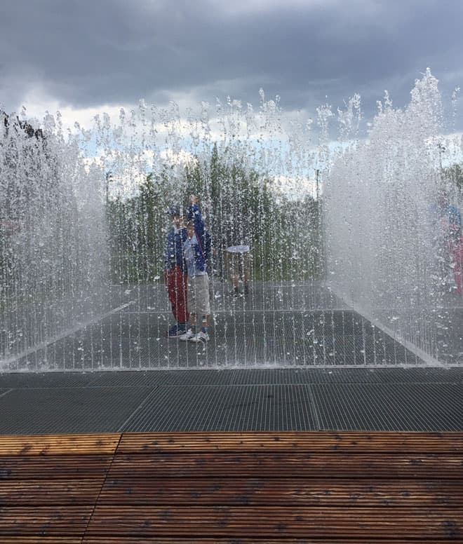 NYC-Fountain