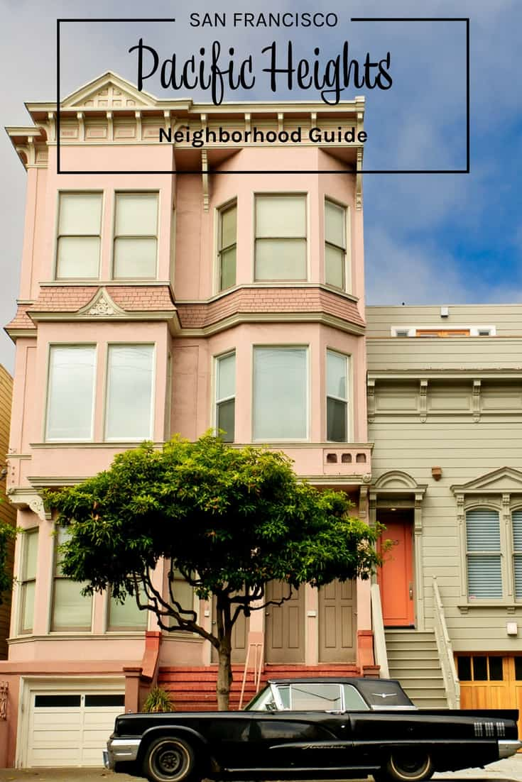 Victorian house in San Francisco California USA Pacific Heights