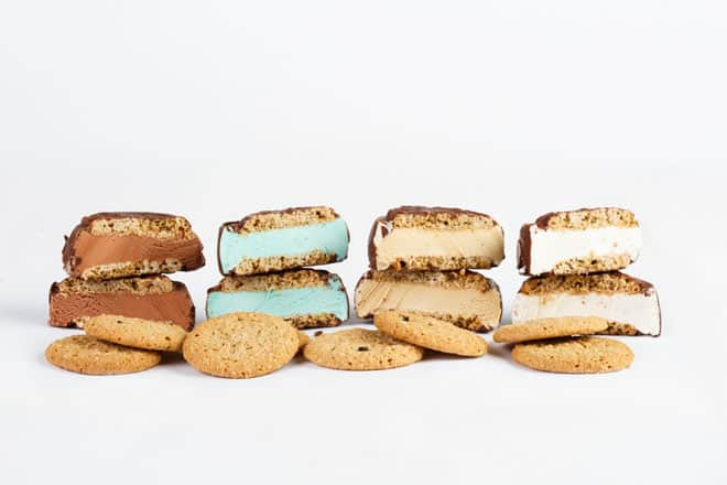 Its-It ice cream Sandwiches