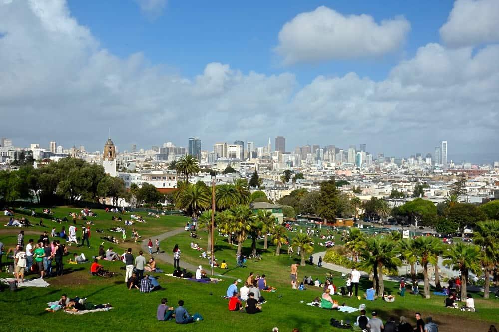 San Francisco Weekend - Dolores-Park-Best-View-SFYT