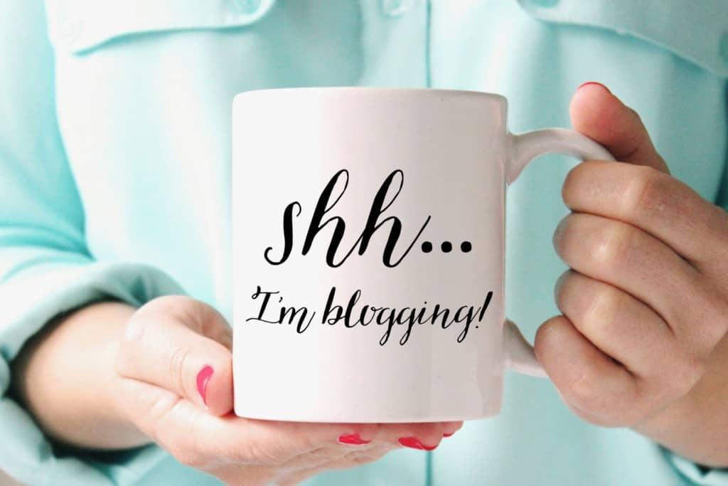 Shh I'm blogging
