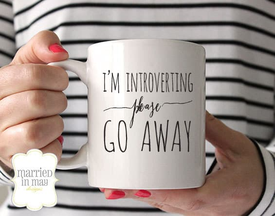 I'm Introverting Please Go Away