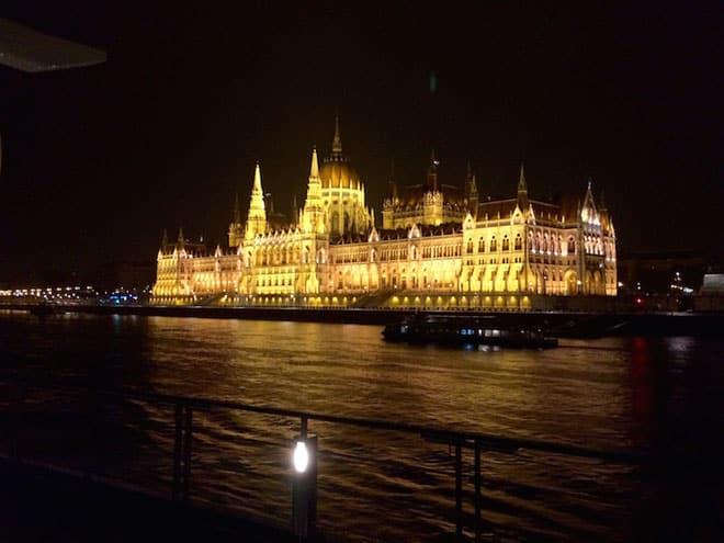 Budapest Midnight Arrival