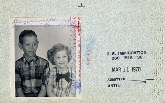 Howard's Passport