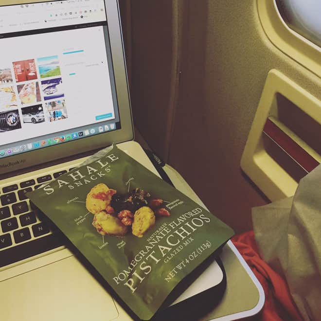 Holiday Travel Hacks bring your own Sahale-Snacks