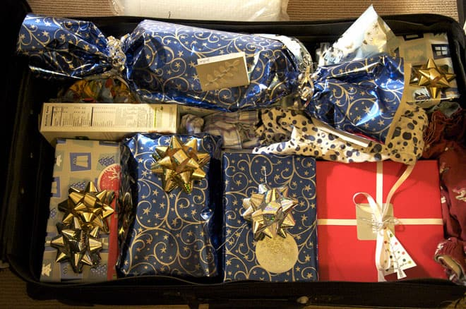 Holiday Travel Hacks Don't Wrap Presents