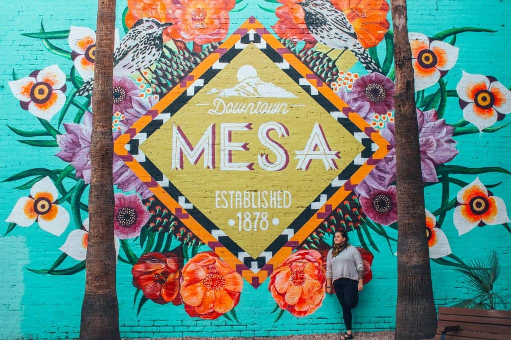 Ashley in Mesa Arizona Mesa Mural