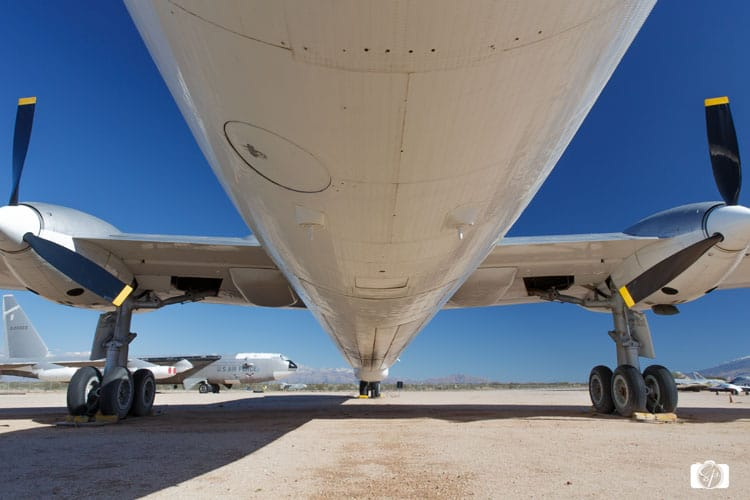 Pima Air Space Museum-Under-a-Plane