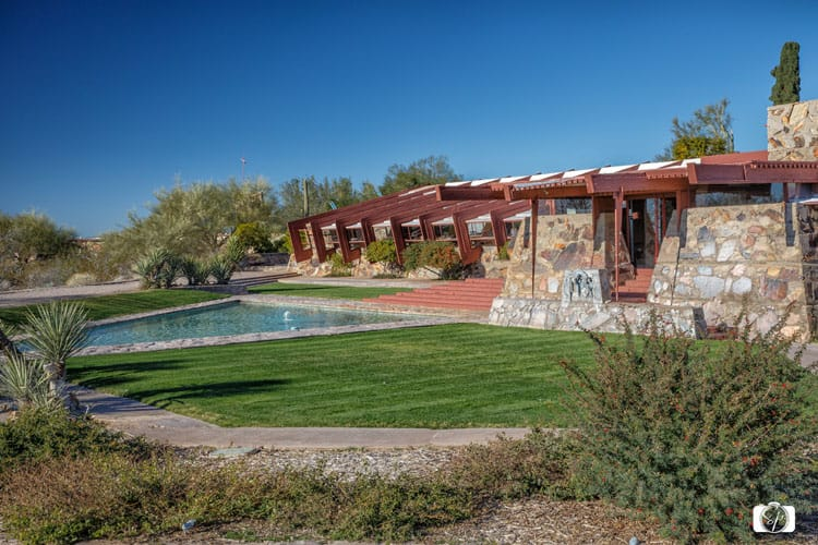 TALIESIN WEST-Front-Side