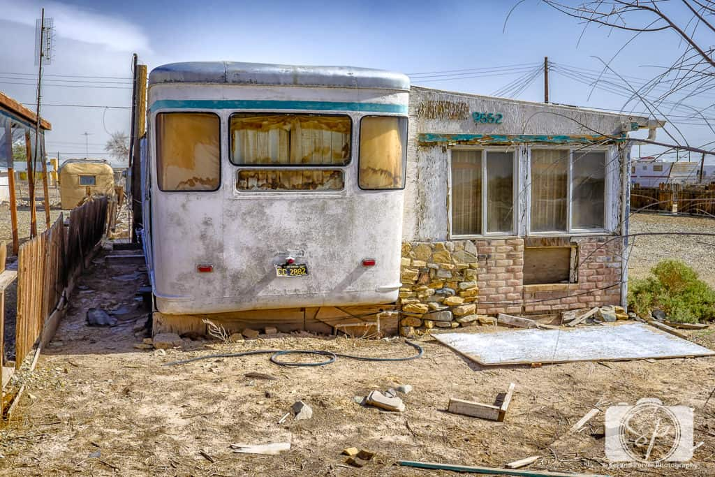 Abandoned Motorhome at Salton Sea California