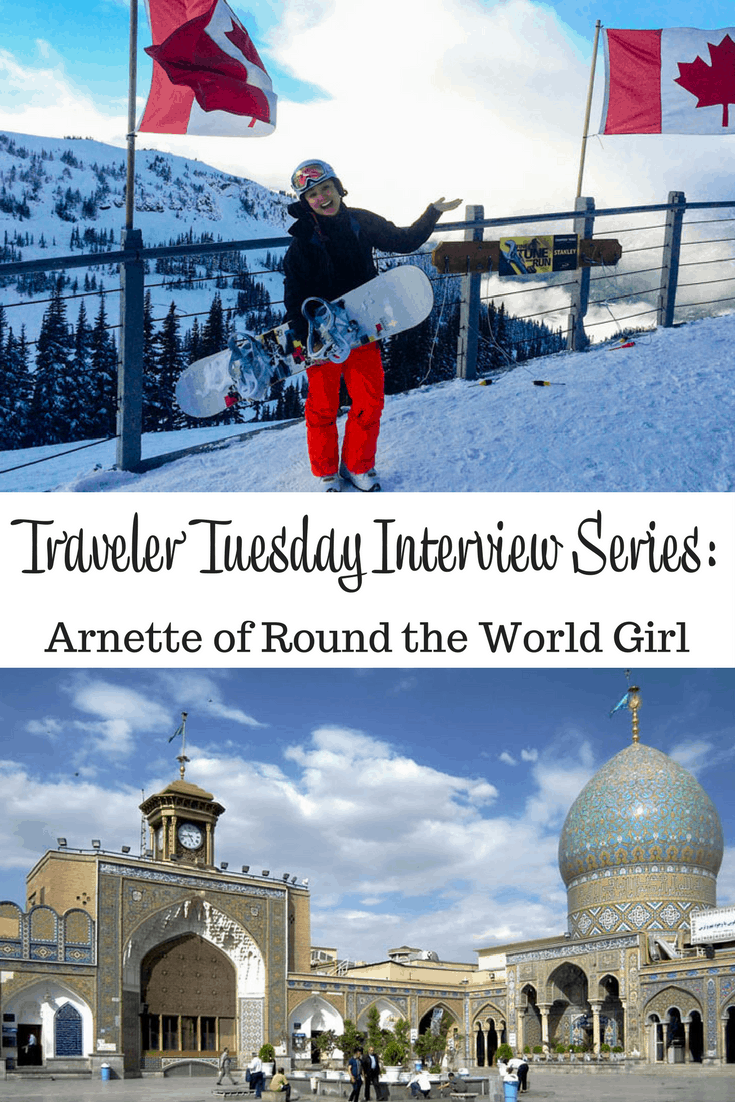 Arnette of Round the World Girl
