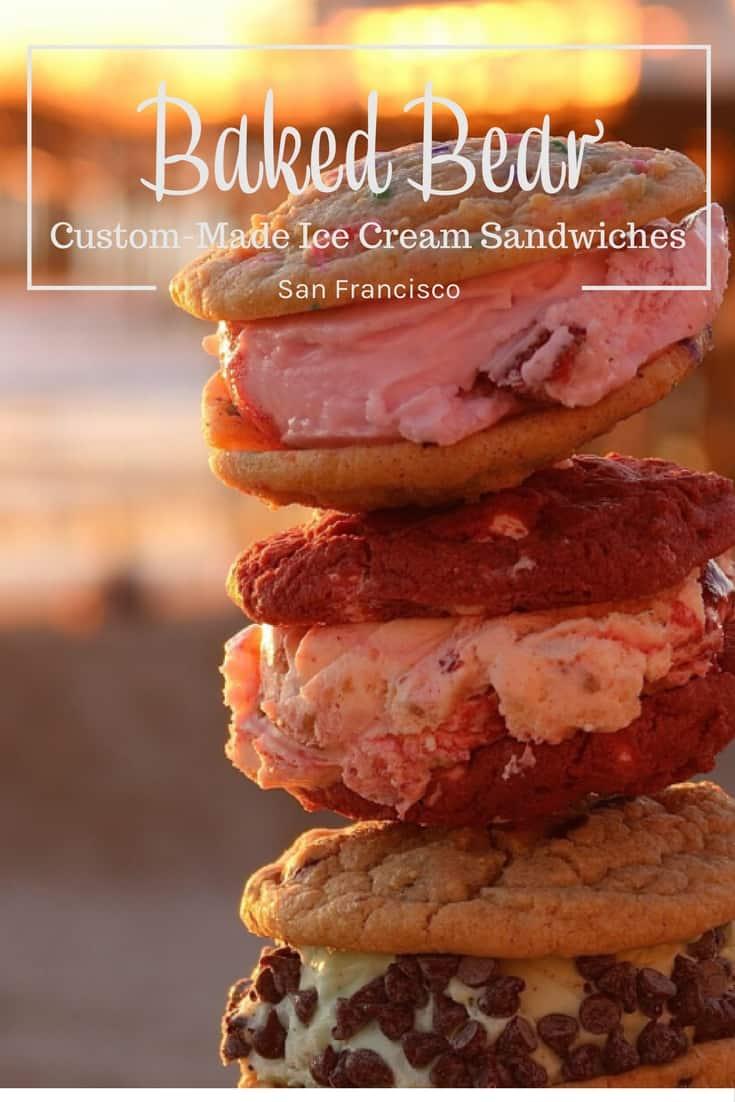 Baked Bear in San Francisco - Custom-made Ice Cream Sandwiches