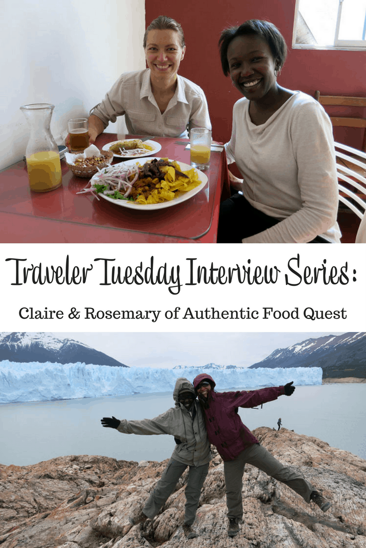 Travel Blogger Claire and Rosemary of Authentic Food Quest