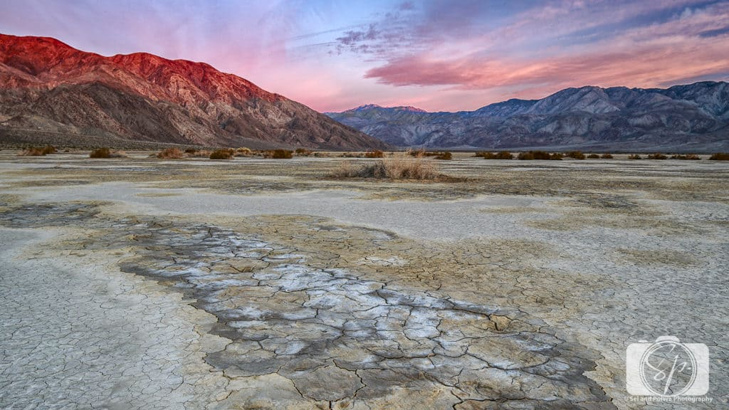 Clark Dry Lake in Anza-Borrego Desert Park California