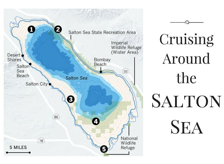 Cruising Around the Salton Sea