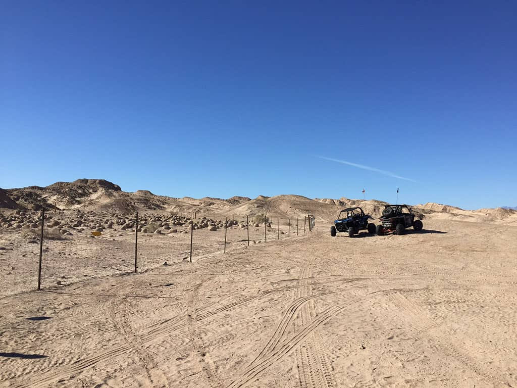 Dune Buggies in Ocotillo Wells State Vehicular Recreation Area California