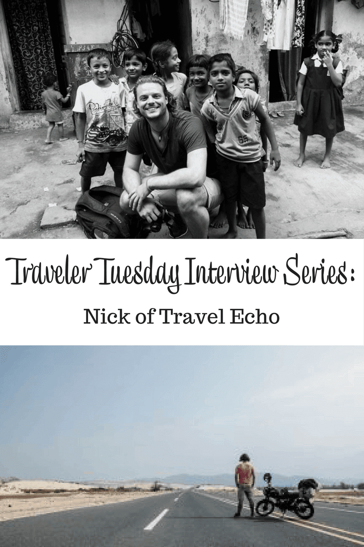 Nick of Travel Echo