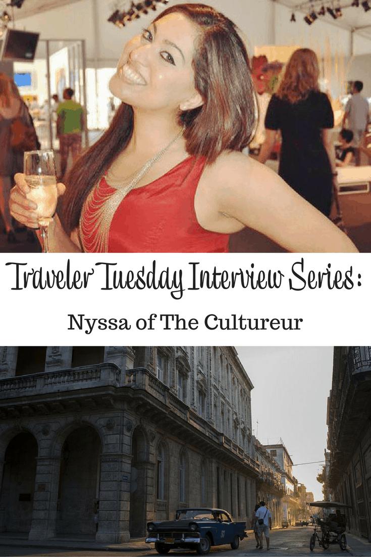 Nyssa of The Cultureur