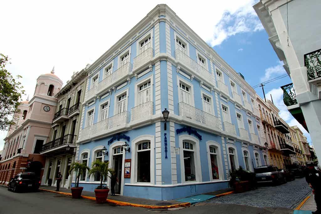 Old San Juan building Puerto Rico