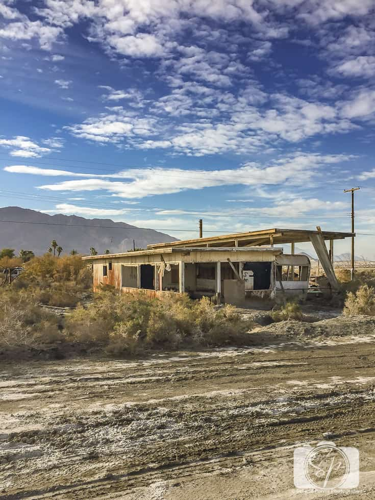 Salton Sea Abandoned Mobile Home
