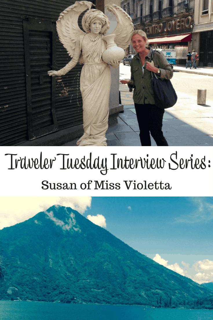 Susan of Miss Violetta