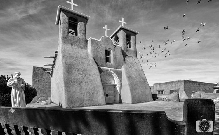 NEW MEXICO-San Francisco de Asis Mission Church