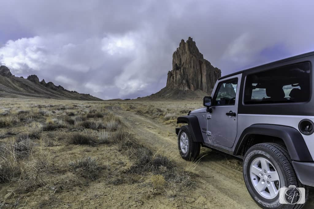 NEW MEXICO-Jeep-Shiprock