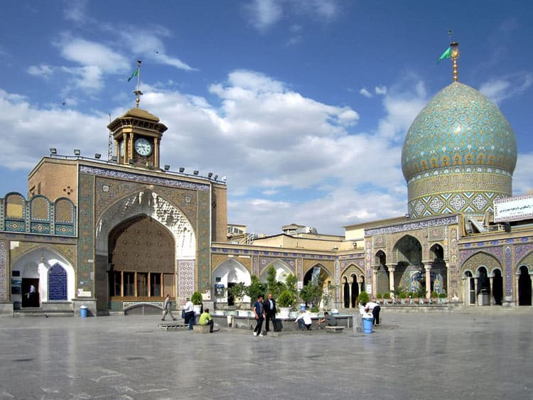 Tehran-Holy-Shrine