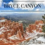 Snow Days in Bryce Canyon