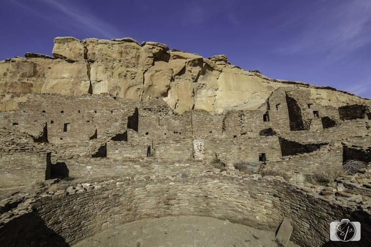 NEW MEXICO-Chaco-Pueblo-Bonita-Color