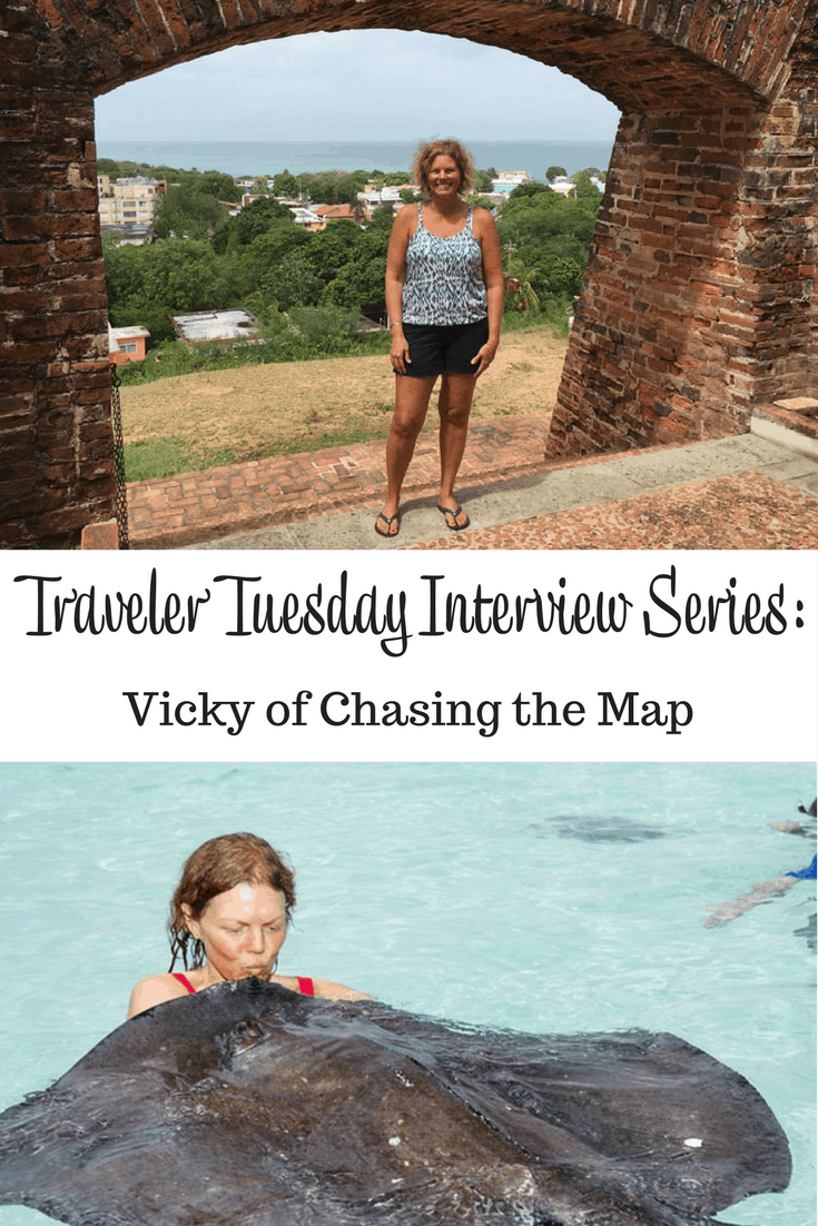 Vicky of Chasing the Map