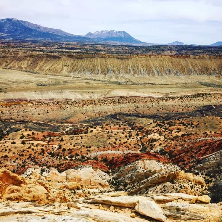 Capitol Reef Strike Valley Overlook