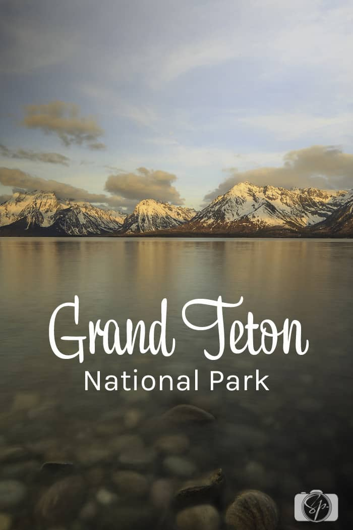 Grand Teton National Park Colter Bay PIN