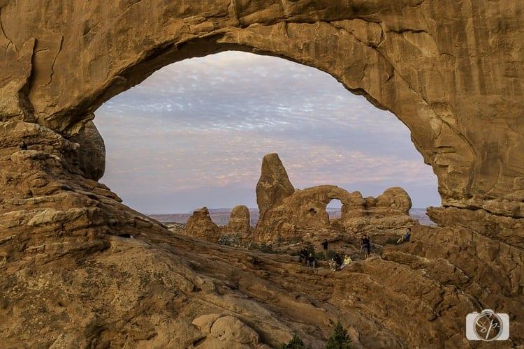arches national park windows