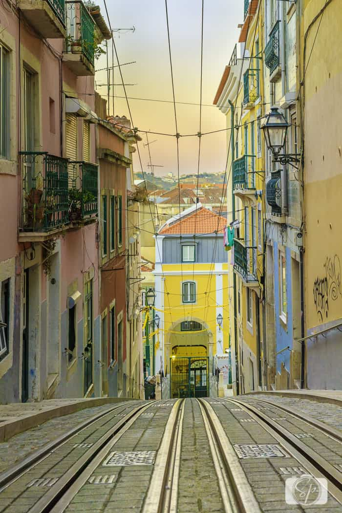 Lisbon Elevator at Bica