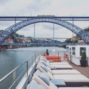 Viking River Cruise Portugal - Douro River Porto Bridges