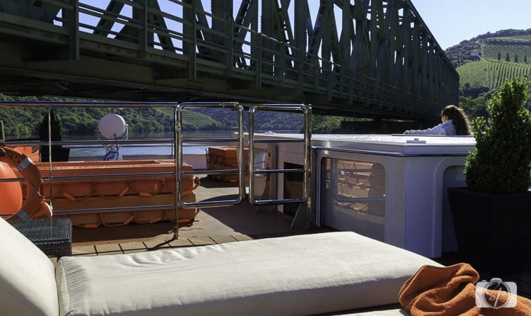 Viking River Cruises Portugal - Hemming Captain in her convertible