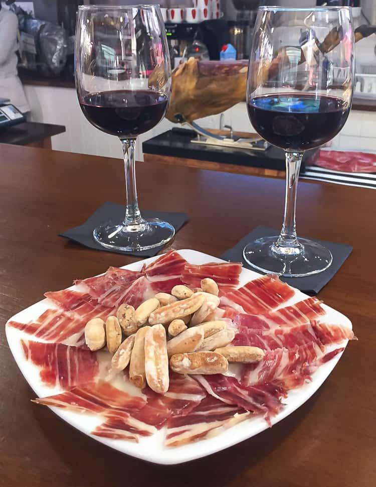 Viking River Cruises Portugal - Salamanca Market Snack