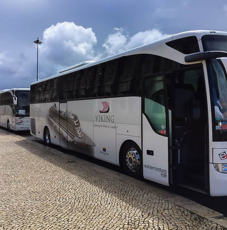 Viking River Cruises Portugal - Viking Coach