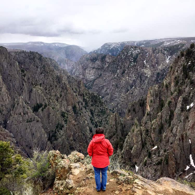 andi-in-black-canyon-of-the-gunnison-national-park