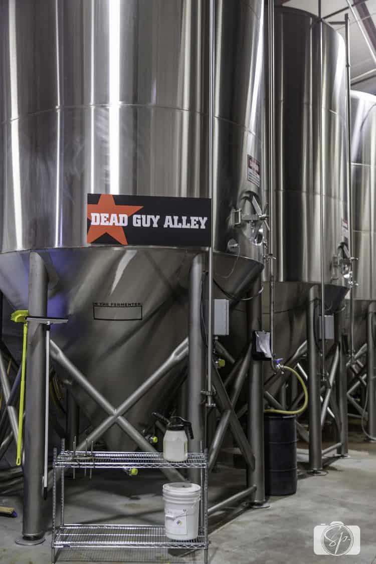 rogue ales brewery floor