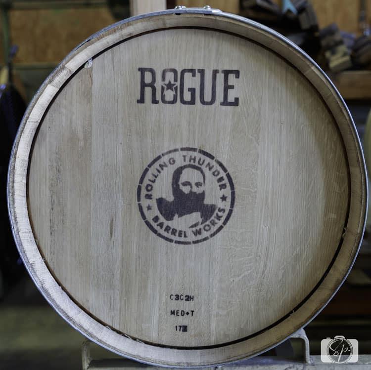 rogue ales barrel
