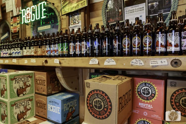 store at rogue ales headquarters