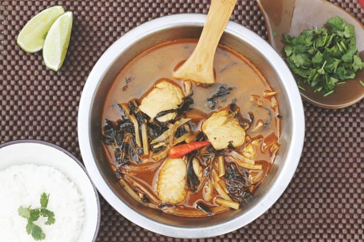 Best Burmese Food in San Francisco burmese kitchen fish stew