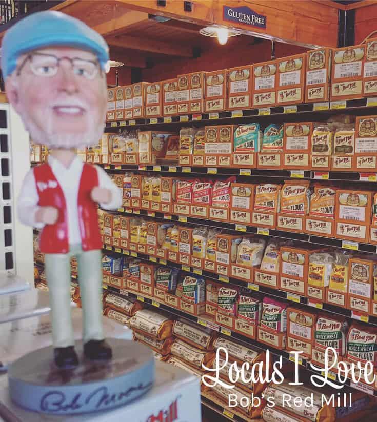 Locals I Love Bob's Red Mill PIN