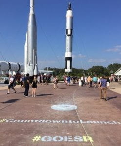 Kennedy Space Center Entry Countdown