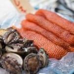 kyoto nishiki market fish