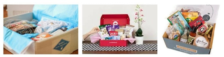 gifts for foodies: food boxes