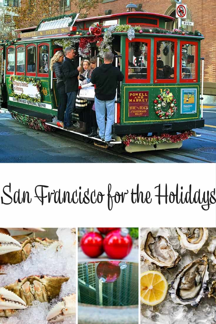 San Francisco for the Holidays California USA