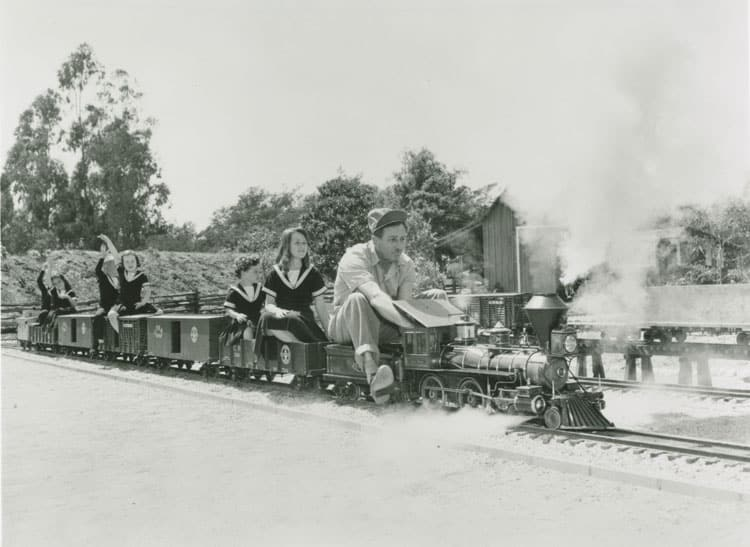 walt-disney-takes-family-members-for-a-ride-on-the-carolwood-pacific-c-1950-photograph-collection-of-the-walt-disney-family-foundation-1999-3-1686